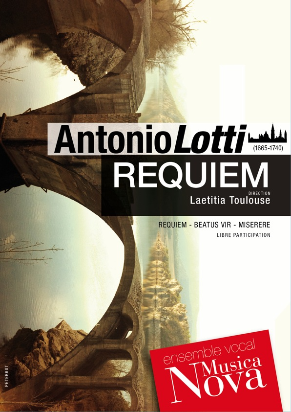 Affiche Requiem Antonio Lotti