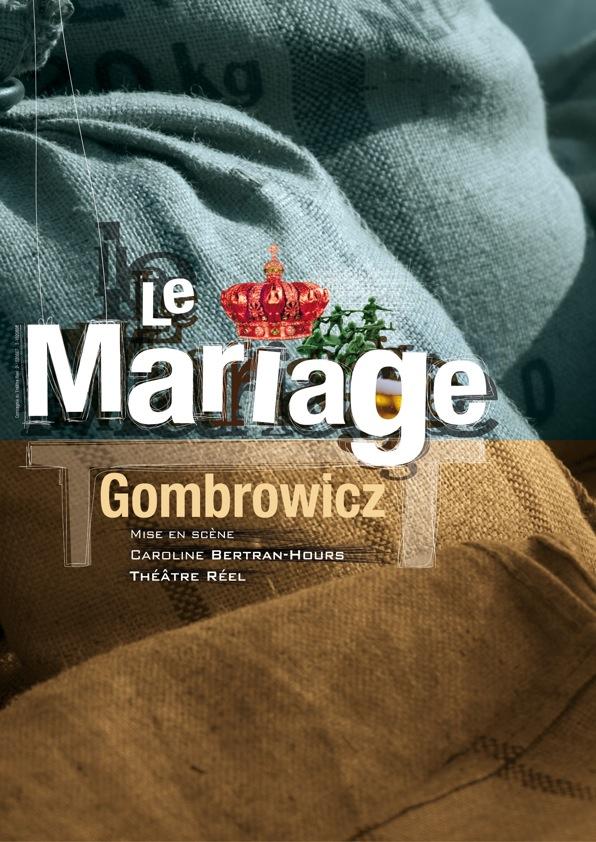 AFFICHE LE MARIAGE DE GOMBROWICZ