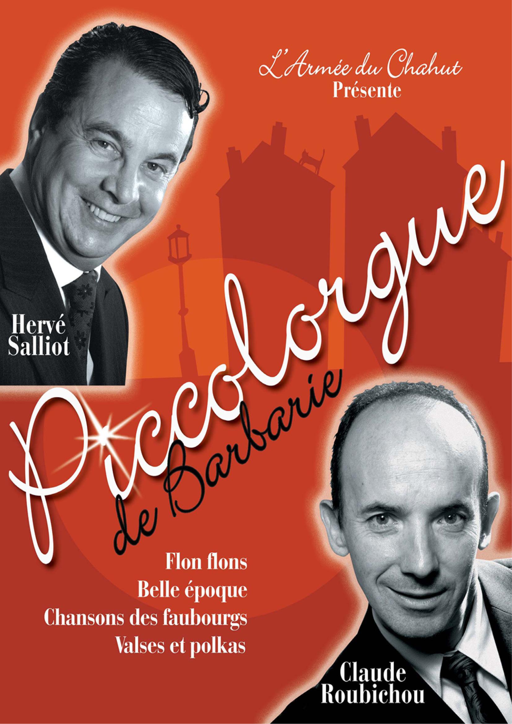 Affiche Hervé Salliot, Claude Roubichou