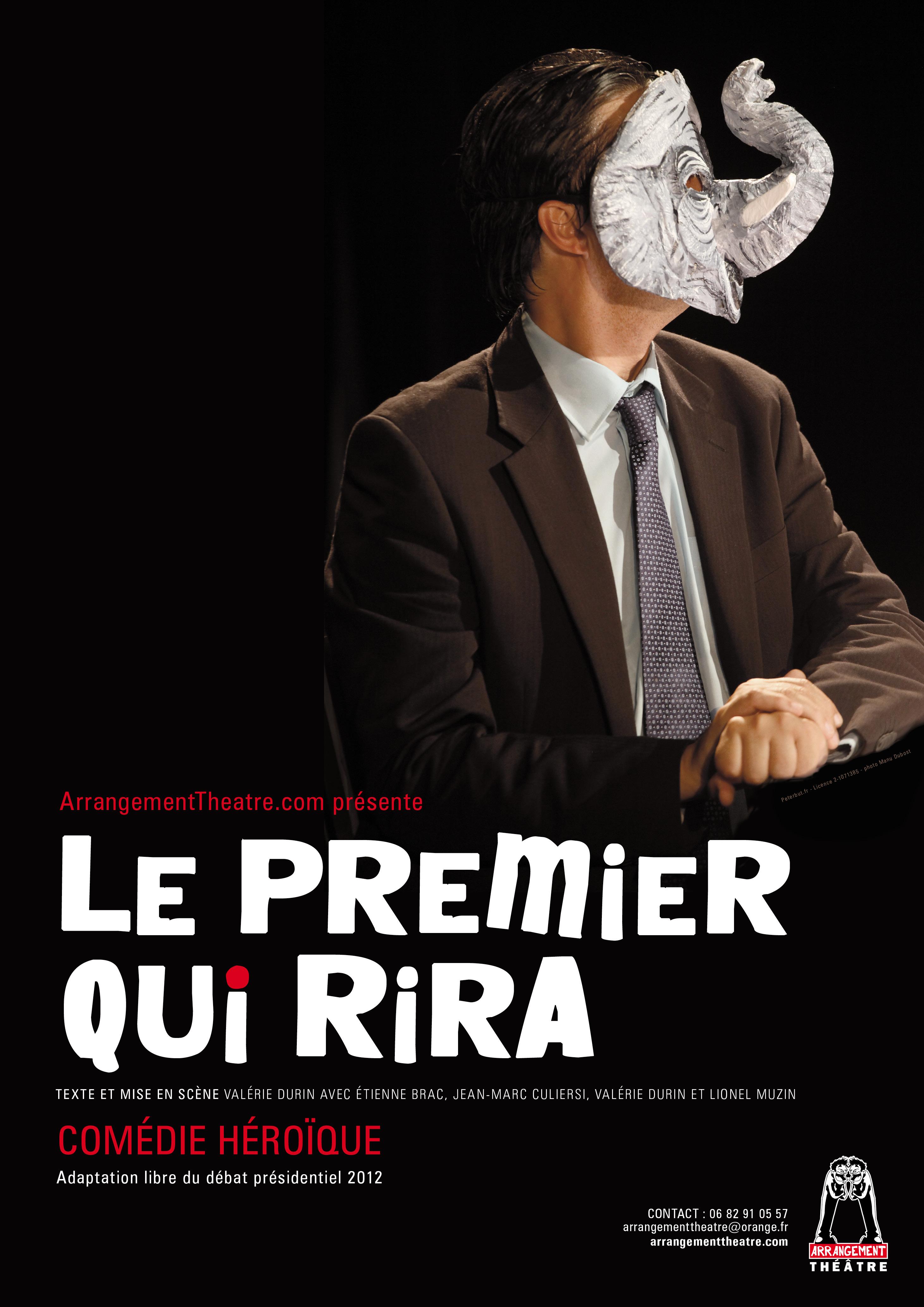 Affiche Compagnie l'Arrangement Théâtre