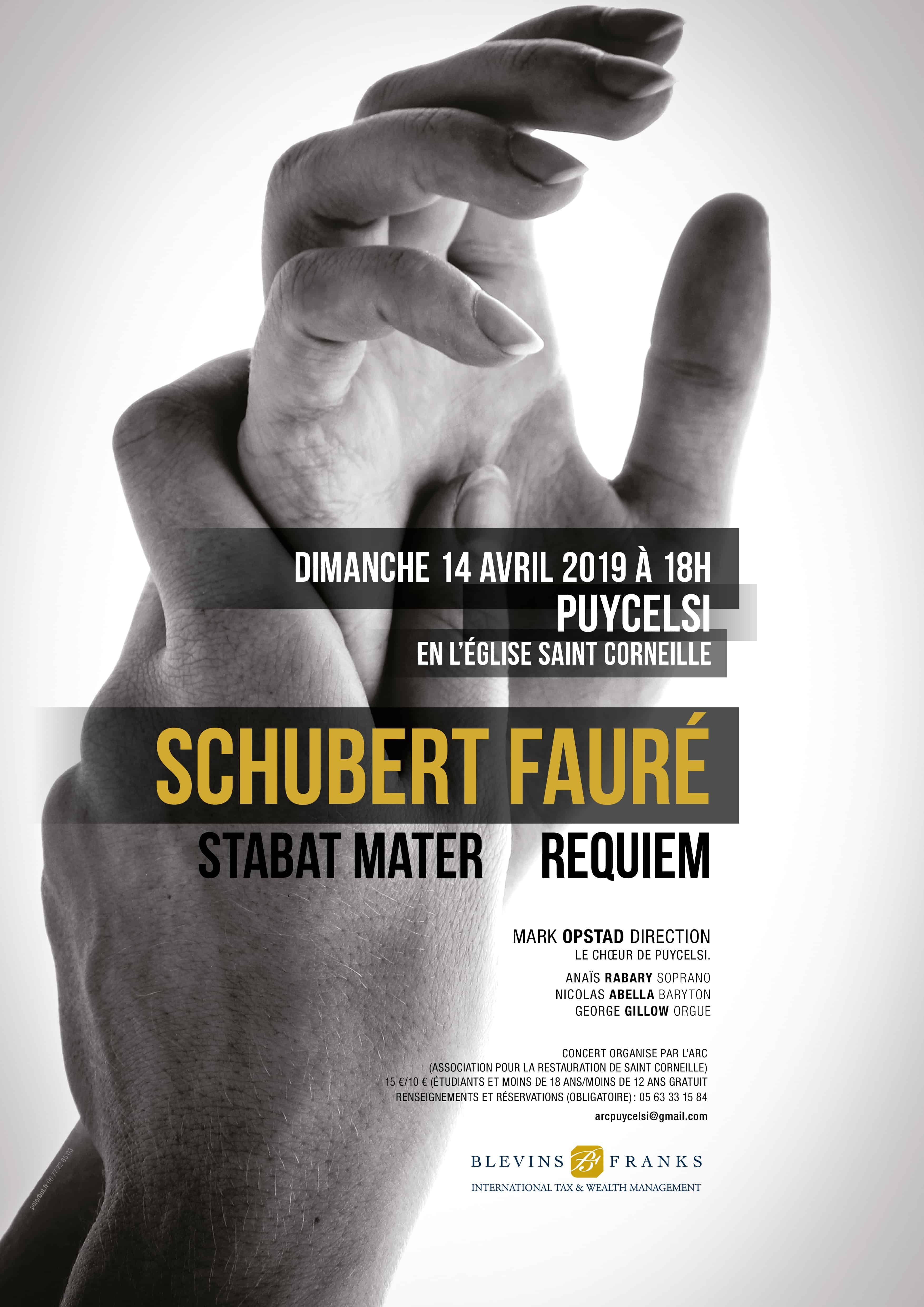 Affiche concert Puycelsi tarn